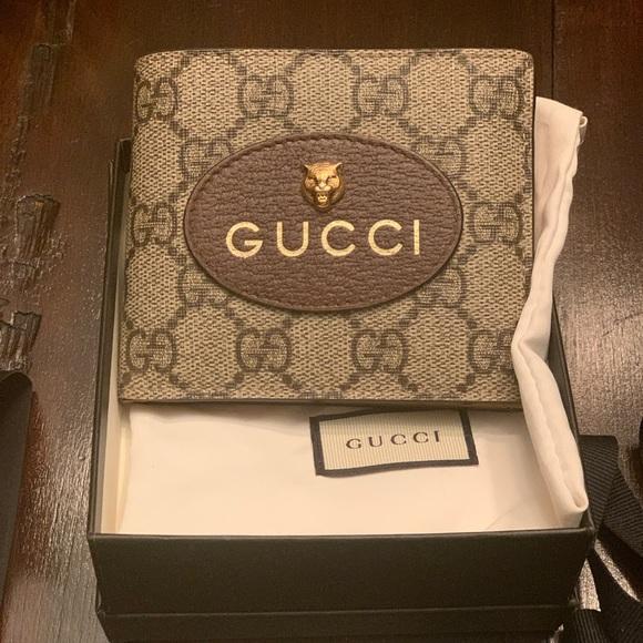 2cd73fe66171 Gucci Bags   Neo Vintage Gg Supreme Wallet   Poshmark